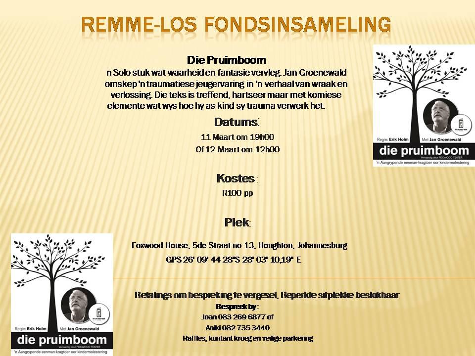 Remme-Los Fondsinsameling Maart 2017