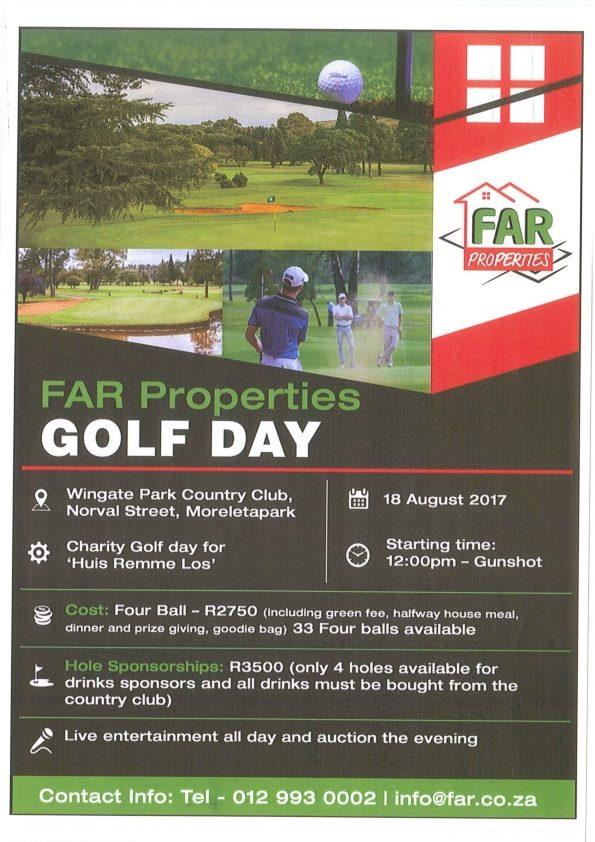 FAR Properties Golf Day